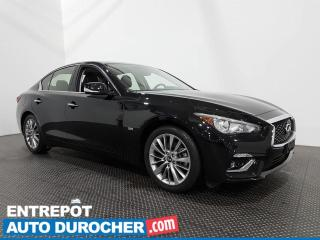 Used 2019 Infiniti Q50 Luxe - Bluetooth - Caméra de Recul - Climatiseur for sale in Laval, QC