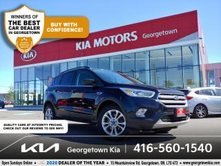 Used 2017 Ford Escape SE | 1 OWNER | CLN CRFX | NAV | BU CAM | HTD SEATS for sale in Georgetown, ON