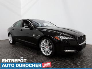 Used 2017 Jaguar XF 35t Prestige - AWD- Navigation -Toit Ouvrant-Cuir for sale in Laval, QC