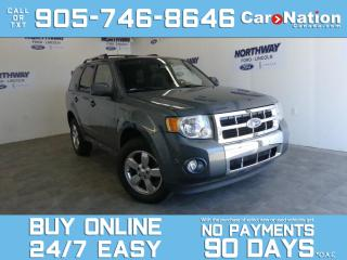 Used 2012 Ford Escape LIMITED |4X4 |V6 |LEATHER |ROOF |NAV | CHROME RIMS for sale in Brantford, ON