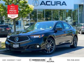 Used 2020 Acura TLX 2.4L P-AWS A-Spec for sale in Markham, ON