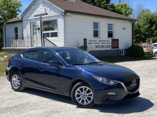 Used 2015 Mazda MAZDA3 No-Accidents GS-Sky Backup Cam Bluetooth for sale in Sutton, ON