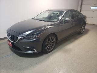 Used 2017 Mazda MAZDA6 GT|Warranty|Low KMS|Navi|Htd Lthr|Loaded for sale in Brandon, MB