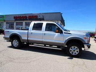 Used 2013 Ford F-250 SD Lariat FX4 Crew Cab 4WD 6.2L V8 Camera Certified for sale in Milton, ON