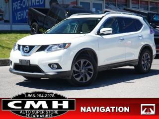 Used 2016 Nissan Rogue SL  NAV CAM ROOF LEATH P/GATE 18-AL for sale in St. Catharines, ON