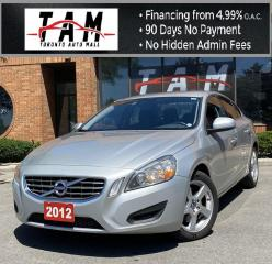 Used 2012 Volvo S60 T5 Heated Seats Air Condition, Power Windows Power for sale in North York, ON