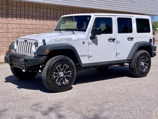 Used 2013 Jeep Wrangler SAHARA UNLIMITED | MOAB | 2 TOPS | for sale in Barrie, ON