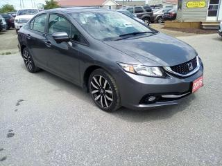 Used 2015 Honda Civic Touring for sale in Leamington, ON