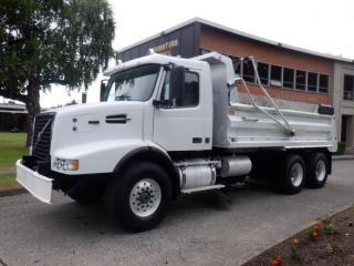 Used 2005 Volvo VE D12- 465 Dump with clean up blade Truck Air Brakes Diesel for sale in Burnaby, BC