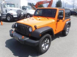Used 2012 Jeep Wrangler Sport 4WD Manual Removable Hard Top for sale in Burnaby, BC
