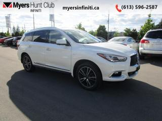 Used 2017 Infiniti QX60 Sensory Package  - Leather Seats for sale in Ottawa, ON