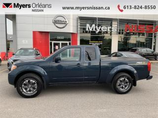 Used 2016 Nissan Frontier PRO-4X  - Navigation -  Bluetooth - $217 B/W for sale in Orleans, ON