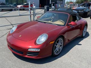 Used 2009 Porsche 911 Carrera 4S CONVERTIBLE 385HP,AWD,PDK,SPORTS CHRONO for sale in Toronto, ON