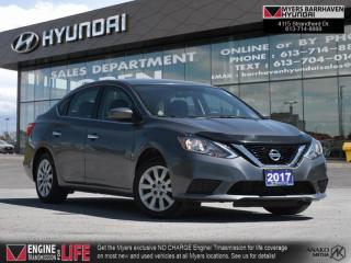 Used 2017 Nissan Sentra S  - Bluetooth -  Power Windows - $104 B/W for sale in Nepean, ON