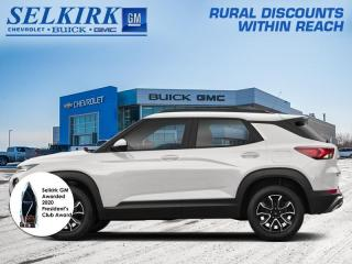 New 2021 Chevrolet TrailBlazer RS for sale in Selkirk, MB