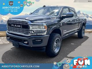 Used 2019 RAM 3500 Limited  - Chrome Styling -  Navigation - $754 B/W for sale in Abbotsford, BC