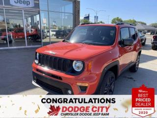 New 2021 Jeep Renegade 80th Anniversary for sale in Saskatoon, SK
