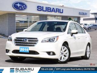 Used 2016 Subaru Legacy 2.5i w/Touring & Tech Pkg - ONE OWNER - CLEAN CARFAX ! for sale in Sudbury, ON