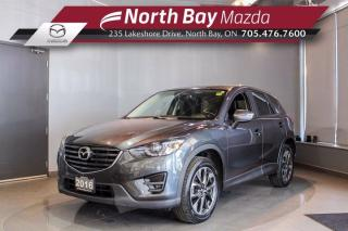 Used 2016 Mazda CX-5 GT AWD - Nav - Bose Sound - Sunroof for sale in North Bay, ON