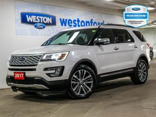 Used 2017 Ford Explorer Platinum for sale in Toronto, ON