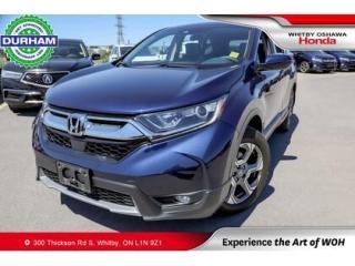 Used 2019 Honda CR-V EX   CVT   Power Moonroof for sale in Whitby, ON
