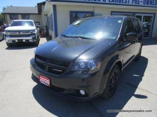 Used 2020 Dodge Grand Caravan LOADED GT-EDITION 7 PASSENGER 3.6L - V6.. CAPTAINS.. STOW-N-GO.. LEATHER.. HEATED SEATS & WHEEL.. BACK-UP CAMERA.. POWER DOORS & WINDOWS.. for sale in Bradford, ON