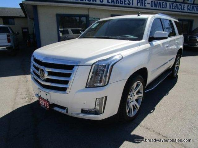 2015 Cadillac Escalade LOADED PREMIUM EDITION 7 PASSENGER 6.2L - V8.. 4X4.. CAPTAINS.. THIRD ROW.. NAVIGATION.. LEATHER.. HEATED/AC SEATS.. BACK-UP CAMERA.. DVD PLAYER..