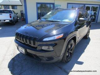 Used 2018 Jeep Cherokee POWER EQUIPPED HIGH-ALTITUDE-MODEL 5 PASSENGER 2.4L - DOHC.. 4X4.. SELEC-TERRAIN-SHIFTING.. BACK-UP CAMERA.. BLUETOOTH SYSTEM.. for sale in Bradford, ON