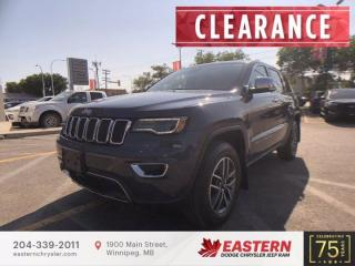 New 2021 Jeep Grand Cherokee Limited   Panoramic Sunroof   for sale in Winnipeg, MB
