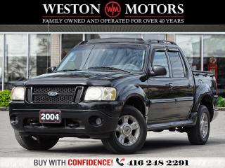 Used 2004 Ford Explorer Sport Trac *4.0L*XLT*LEATHER*SUNROOF*SOLD AS IS! for sale in Toronto, ON