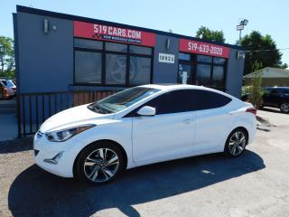 Used 2015 Hyundai Elantra GLS|Bluetooth|Heated seats|Backup camera for sale in St. Thomas, ON
