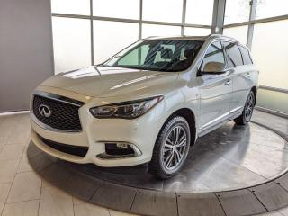 Used 2017 Infiniti QX60 PREMIUM PACKAGE - NO ACCIDENTS! for sale in Edmonton, AB