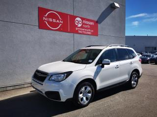 Used 2017 Subaru Forester i / Heated Seats / X Mode / Touch Screen / Used Subaru Dealership for sale in Edmonton, AB