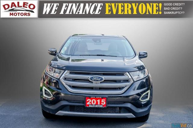 2015 Ford Edge TITANIUM / LEATHER / NAVI / PANOROOF / Photo3