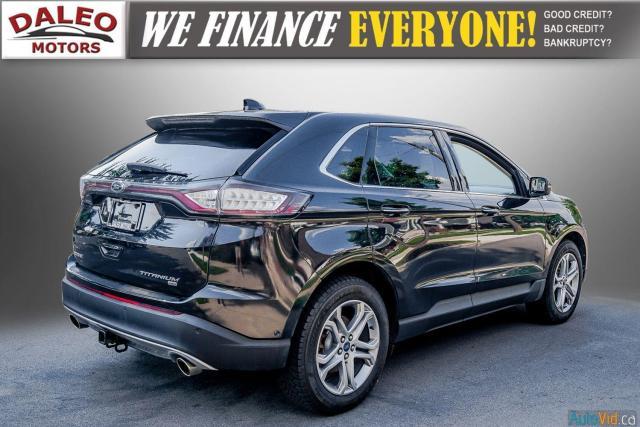 2015 Ford Edge TITANIUM / LEATHER / NAVI / PANOROOF / Photo8