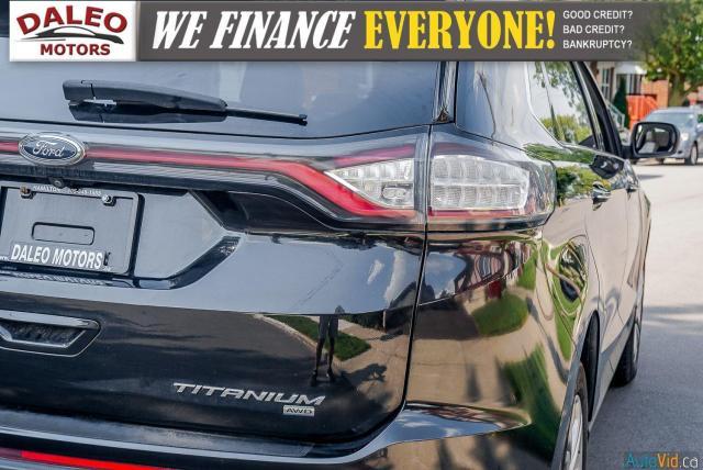 2015 Ford Edge TITANIUM / LEATHER / NAVI / PANOROOF / Photo10