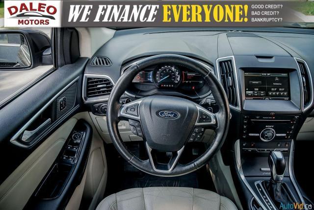 2015 Ford Edge TITANIUM / LEATHER / NAVI / PANOROOF / Photo14