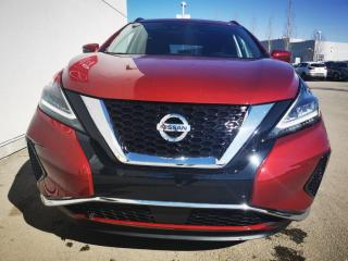 New 2021 Nissan Murano SV/AWD/PANO ROOF/PUSH START/HEATED STEERING/BLIND SPOT for sale in Edmonton, AB