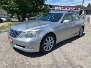 Used 2007 Lexus LS 460 Leather/Roof/Navi/Bckup Camera/Comes Certified for sale in Scarborough, ON