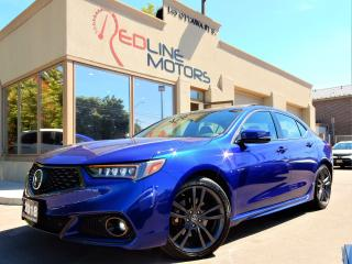 Used 2018 Acura TLX Tech A-Spec SH-AWD.Navi.Cam.BlindSpot.FullyLoaded for sale in Kitchener, ON