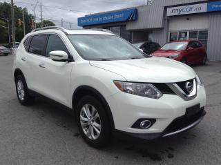 Used 2016 Nissan Rogue SV PANOROOF, HEATED SEATS, ALLOYS, BACKUP CAM, LOW KM for sale in Kingston, ON