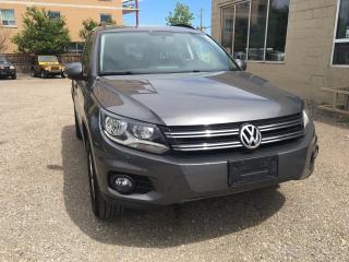 Used 2014 Volkswagen Tiguan COMFORTLINE for sale in Waterloo, ON