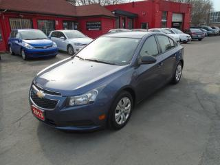 Used 2013 Chevrolet Cruze LS/ ONE OWNER / NO ACCIDENT / LOW KMS / A/C / MINT for sale in Scarborough, ON