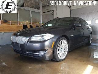 Used 2012 BMW 5 Series 550i xDrive/NAVIGATION/LEATHER!! for sale in Barrie, ON