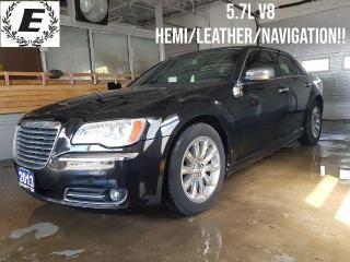 Used 2013 Chrysler 300 300C 5.7L V8 HEMI/NAVIGATION/LEATHER!! for sale in Barrie, ON