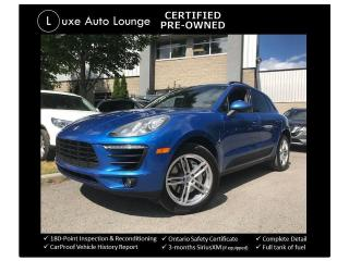 Used 2015 Porsche Macan S - AWD, LEATHER, HEATED POWER SEATS, LOADED! for sale in Orleans, ON