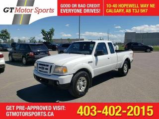 Used 2008 Ford Ranger SPORT 4WD SUPERCAB I $0 DOWN - EVERYONE APPROVED! for sale in Calgary, AB