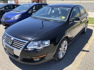 Used 2010 Volkswagen Passat 2.0T Highline AUTO HEATED LEATHER SUNROOF ALLOYS LOW LOW KMS for sale in Orillia, ON