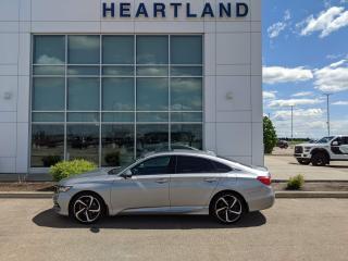 Used 2019 Honda Accord Sport 1.5T SUNROOF | HEATED SEATS | REMOTE START | LEATHER-USED EDMONTON HONDA DEALER for sale in Fort Saskatchewan, AB