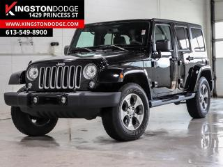 Used 2018 Jeep Wrangler JK Unlimited Unlimited Sahara | 4X4 | NAV | Heated Seats | Remote Start | for sale in Kingston, ON